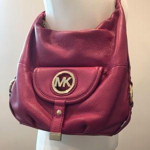 Michael Kors Pink Hobo Bag